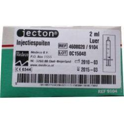 Injectiespuit 2 ml