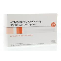 acetylcysteine 200mg apot uad