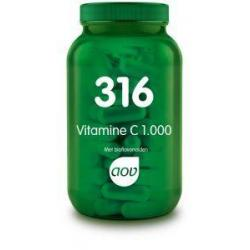 316 Vitamine C 1000 mg Bioflavonoiden 50 mg